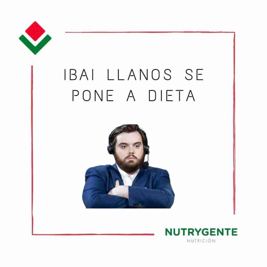 La dieta del youtuber famoso Ibai Llanos