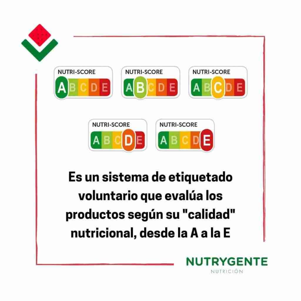 Que és el Nutri-score y para que sirve,  nutricionistas lo explican