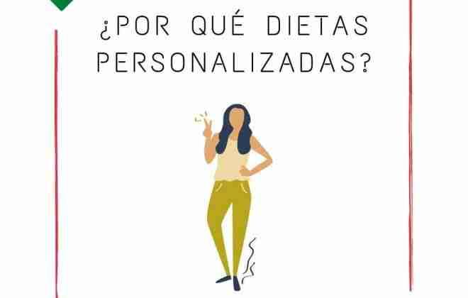 ¿Por qué exigir a tu nutricionista una dieta personalizada?