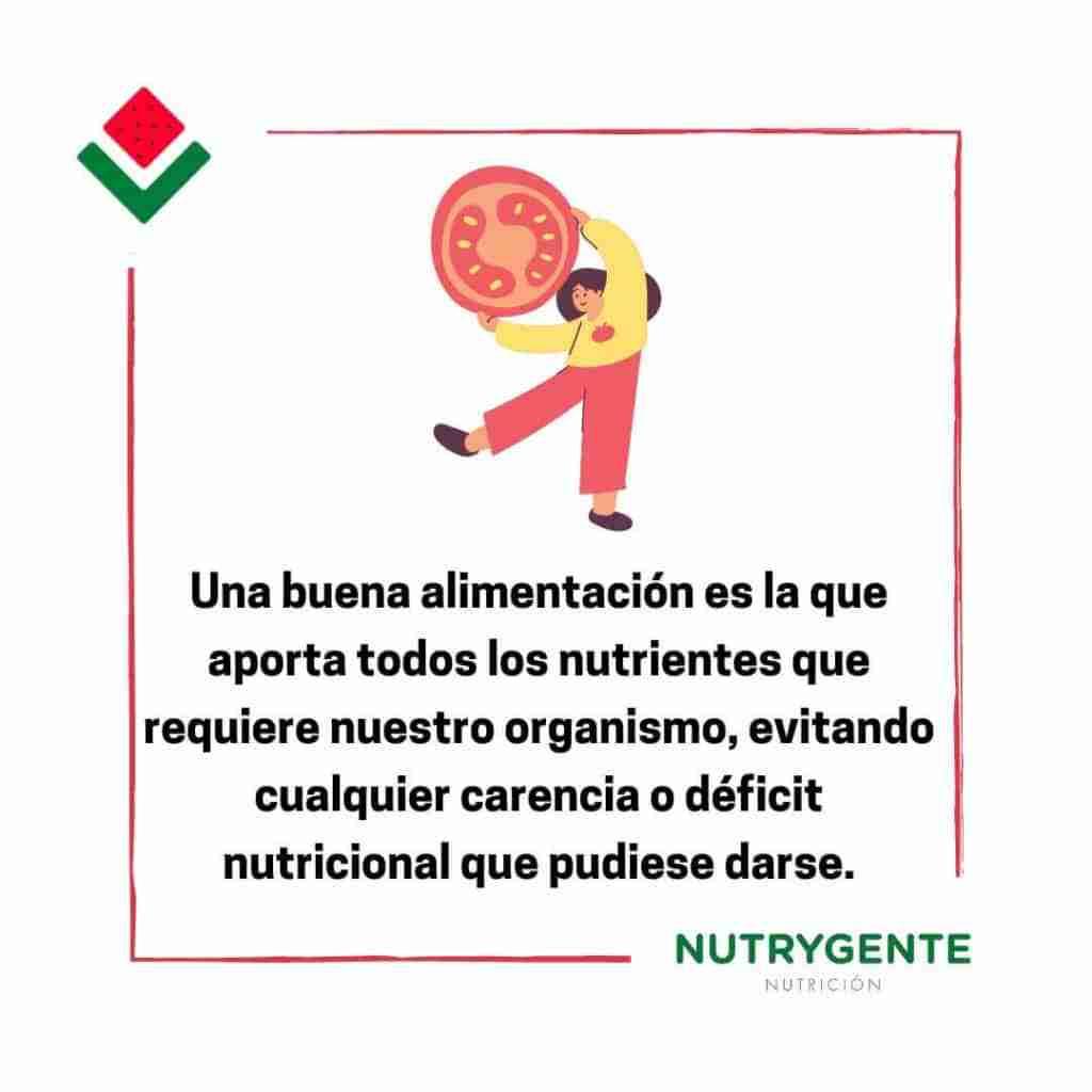 definición de una alimentación saludable