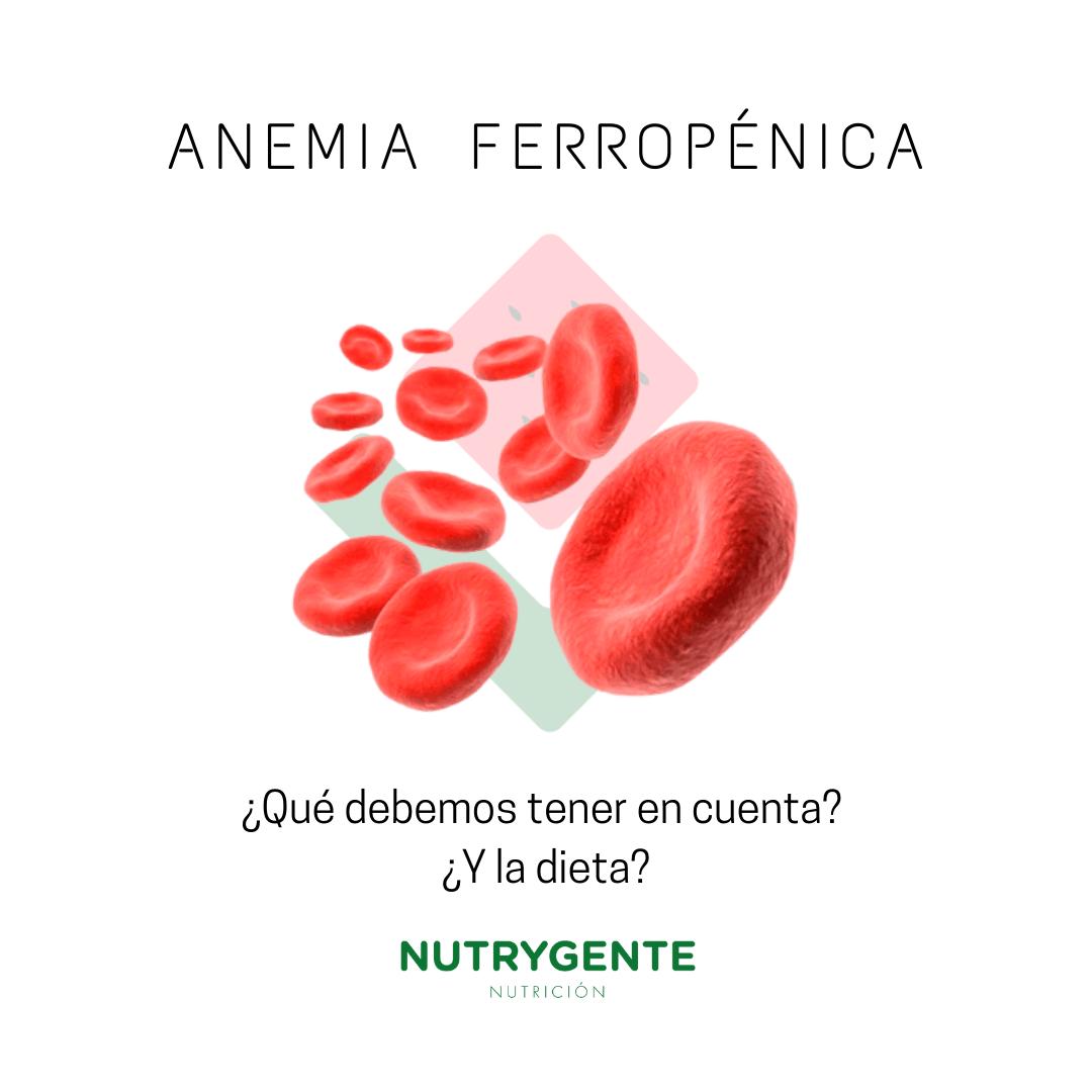 como mejorar la anemia ferropénica con la nutrición y la dieta