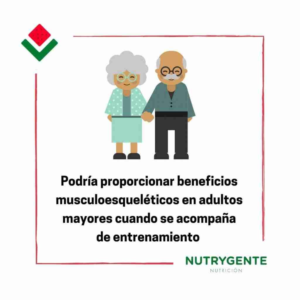 La función de la creatina como suplemento nutricional en mayores adultos