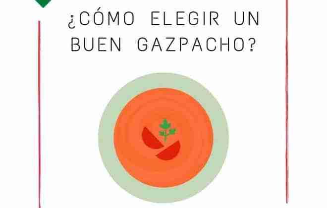 el mejor gazpacho según el punto de vista de los nutricionistas