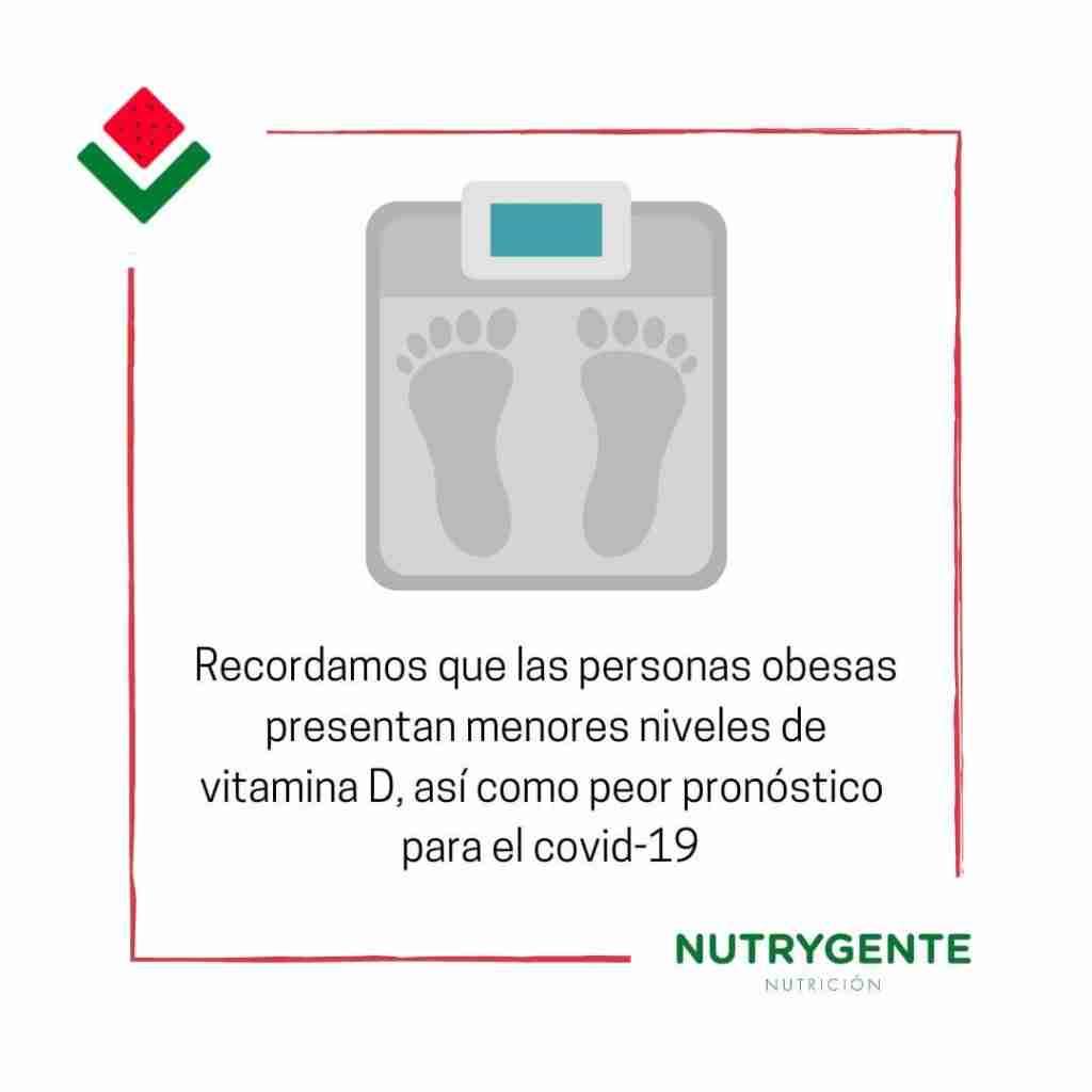 el sobrepeso afecta al sistema inmune frente a la actualidad del covid19