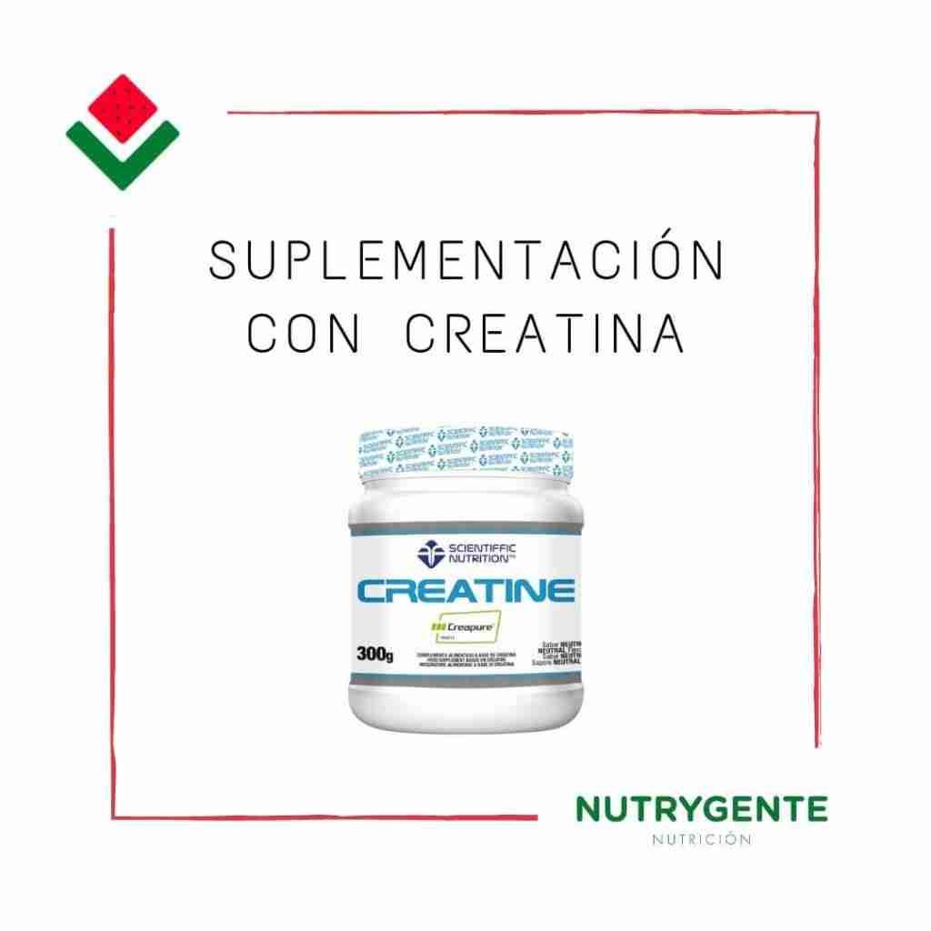 Suplementación de creatina es buena o mala y su función dependiendo de la persona